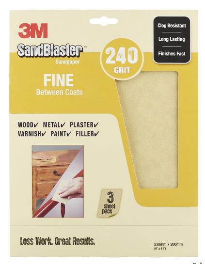 Wilko Fine Sanding paper
