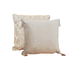 Mix and match the Navi velvet cushion with the Helen throw cushion to complete that classic vintage decor.
